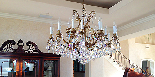 Chandelier cleaning services costa mesa ca pro form window cleaning chandelier mirror light fixture cleaning aloadofball Images